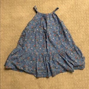 GAP Blue Floral Dress